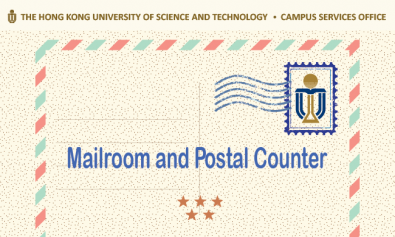Special Mailroom and Postal Counter Arrangement